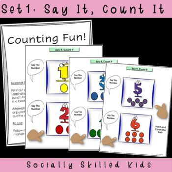 Counting and Number Identification {6 Fun Activities}