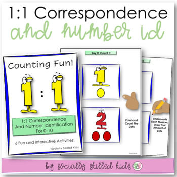 1:1 Correspondence and Number Identification