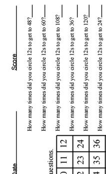 11 Ease Into Multiplication Intermediate Worksheets