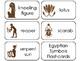 11 Egyptian Symbols Printable Flashcards. Preschool-3rd Grade