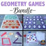 Geometry Games Bundle: 11 Games and Activities