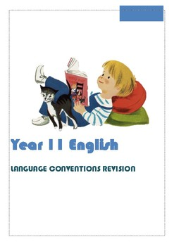 11 English HSC Standard Language Conventions Revision