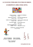 11 European Child songs - GUITAR DUO