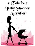 11 Fabulous Baby Shower Activities