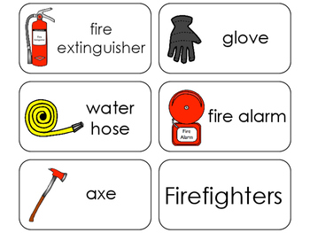 11 Firefighters Beginning Stages Flashcards. Preschool-1st Grade