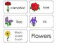 11 Flowers Beginning Stages Flashcards. Preschool-1st Grade