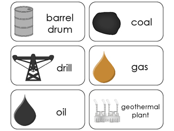 11 Forms of Energy Beginning Stages Flashcards. Preschool-1st Grade