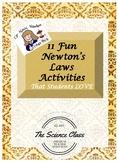 11 Fun Newton's Law Activities