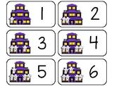11 Ghost Counting Printable Flashcards. Preschool-KDG Math.