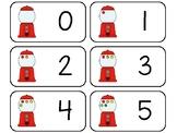 11 Gumball Counting Printable Flashcards. Preschool-KDG Math.