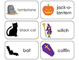 11 Halloween Beginning Stages Flashcards. Preschool-1st Grade