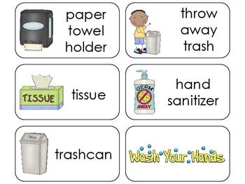 11 Hand Washing Beginning Stages Flashcards. Preschool-1st Grade