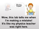 Physics Lab Bundle: Interactive Spreadsheets