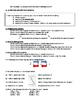 Grade 11 Physics - Kinematics Unit Review