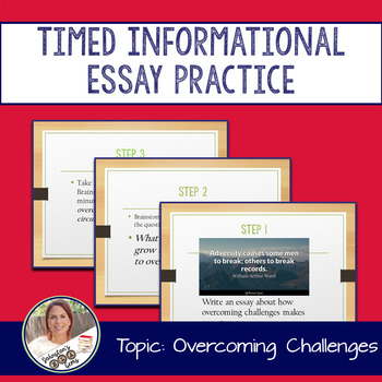 STAAR English I EOC 11 Minute Essay Expository Practice- Overcoming