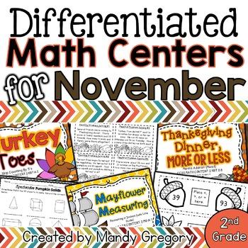 11 November Math Centers