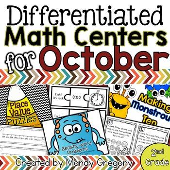 11 October Math Centers