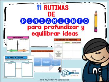 11 Rutinas de pensamiento PARTE 2 Español/ Indagación PYP IB (Thinking Routines)