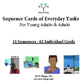 11 Sequences of Everyday Tasks for Young Adults and Adults (Set 3 of 3)