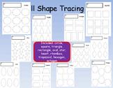 11 Shape Tracing Shapes Precious Preschoolers