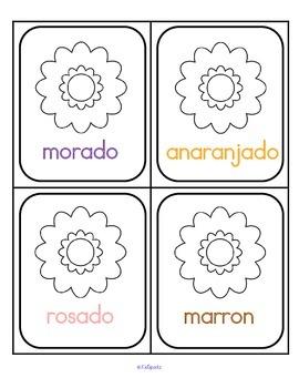 Colors Spanish