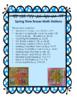 """12 Spring/Easter Eraser Math Stations for the Target """"Egg Filler"""" Erasers"""