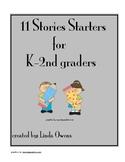 11 Story Starters for K-2 graders