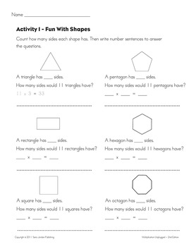 Skip Counting & Multiplying by 11 - Song w/ Lyrics & Activities (Common Core)