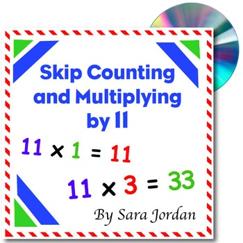 Skip Counting & Multiplying by 11 - Song w/ Lyrics & Activ