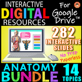 13 Topic ANATOMY BUNDLE ~Interactive Digital Resources for