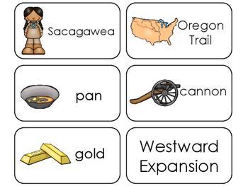 11 Westward Expansion Flashcards. Preschool-1st Grade