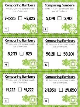 11 Winter Math Centers for Older Children