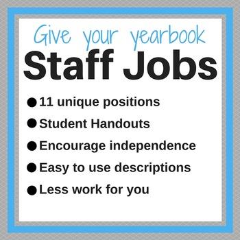 11 Yearbook Staff Jobs