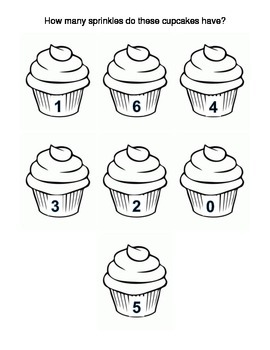 1:1 how many sprinkles do these cupcakes have?