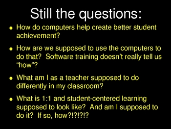 1:1 laptop environment philosophy