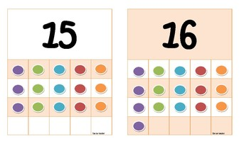 11 to 20 number flashcards