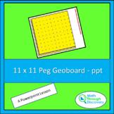11 x 11 Geoboard - PPT