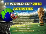 11 x The World Cup 2018 Tutor Activities Lesson PE Footbal