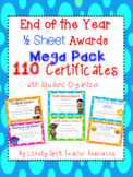 110 End of Year Award Certificates