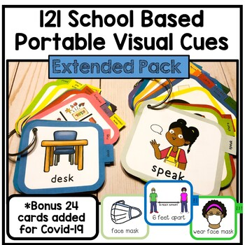 110 School Based Portable Visual Cues. Autism. Speech