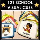 121 School Based Portable Visual Cues. Autism. Speech