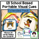 School Based Portable Visual cards pictures classroom communication