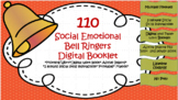 110 Social Emotional Bell Ringers with Digital workbook