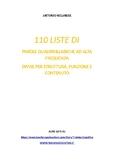 110 liste di parole quadrisillabiche divise per struttura