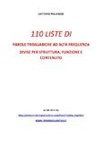110 liste di parole trisillabiche af divise per struttura,