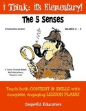 1101 The Five Senses COMPLETE UNIT