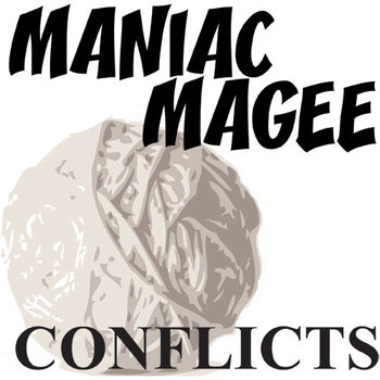 MANIAC MAGEE Conflict Graphic Organizer - 6 Types of Conflict