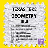 111.41 GEOMETRY TEKS