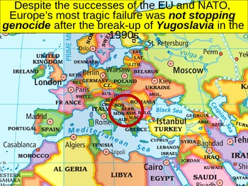 WORLD UNIT 14 LESSON 1. Post-Cold War Europe POWERPOINT
