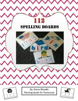 112 Spelling Boards